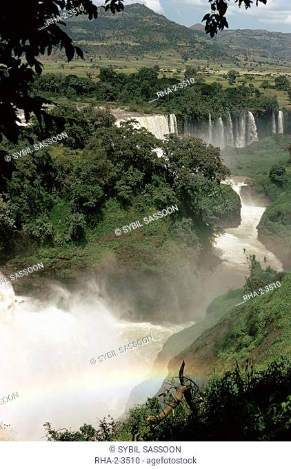 Tis Isat Falls on the Blue Nile, Ethiopia, Africa