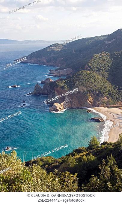 Aegean coast of Pelion Peninsula, Thessaly, Greece