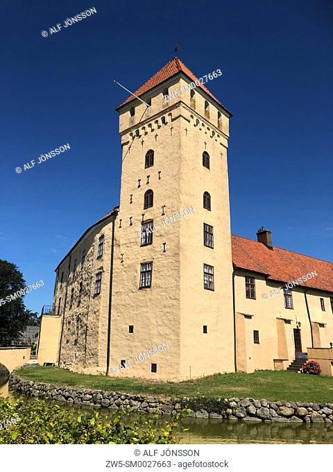 Tosterup castle in Scania, Sweden