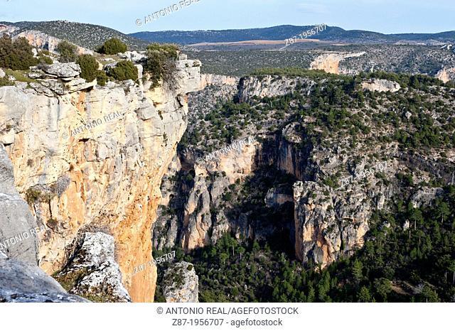 Cañón del río Zumeta. Parque Natural de Cazorla, Segura y las Villas. Jaén, Andalusia, Spain