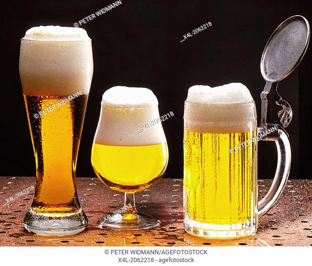 Different Types of Beer, Wheat Beer, Pilsner, Lager