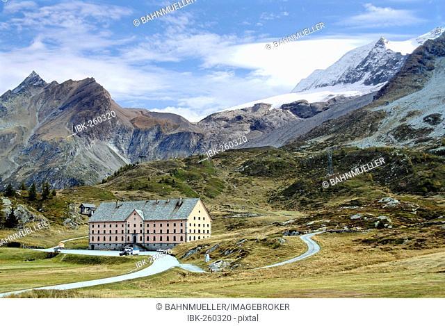 Simplon Pass canton of Valais Switzerland hospice