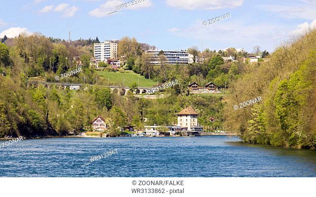 Castle Wörth near Rhine Falls, Schaffhausen, Switzerland