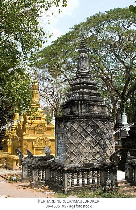 Gravesite in Angkor Wat, Siem Reap, Cambodia