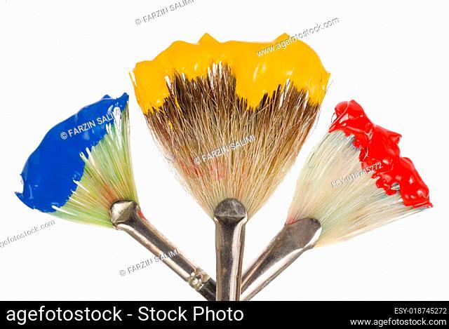 Rot, gelb, blau