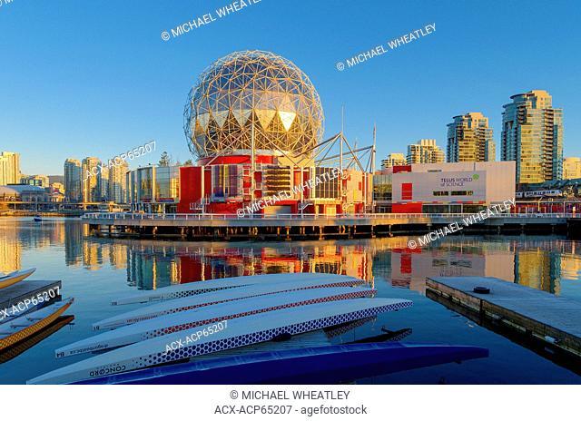 Telus Science World, False Creek, Vancouver British Columbia, Canada
