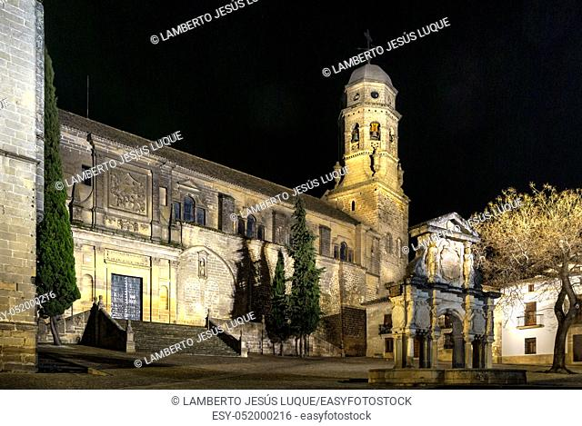Renaissance Cathedral of the Nativity of Our Lady in Baeza, Jaen, Spain