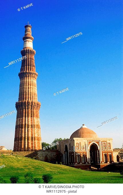 Qutub Minar New Delhi India Asia