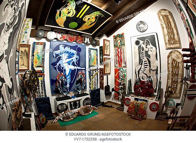 Painter Francisco Poyato Museum, Zuheros, Cordoba, Andalucia, Spain