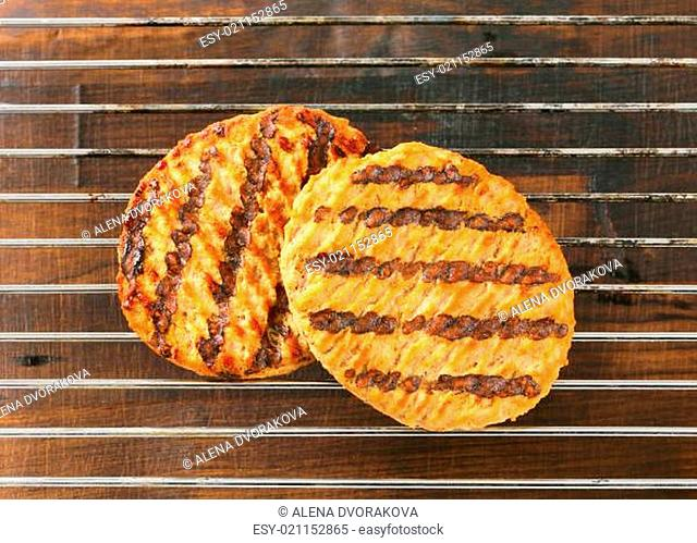 Grilled patties