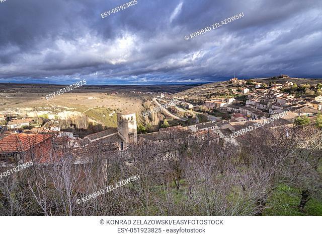 Sepulveda town in Province of Segovia, Castile and Leon autonomous community in Spain