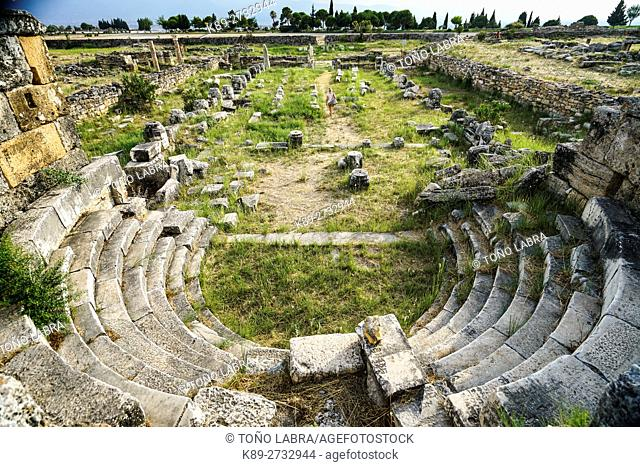 Hierapolis Basilica. Ancient Greece. Asia Minor. Turkey