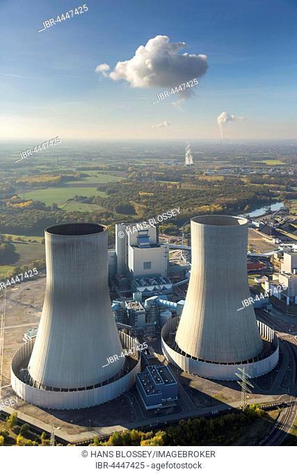 Nuclear reactors, Westfalen power plant, RWE Power, INNOGY, nuclear power plant, Hamm, Ruhr district, North Rhine-Westphalia, Germany