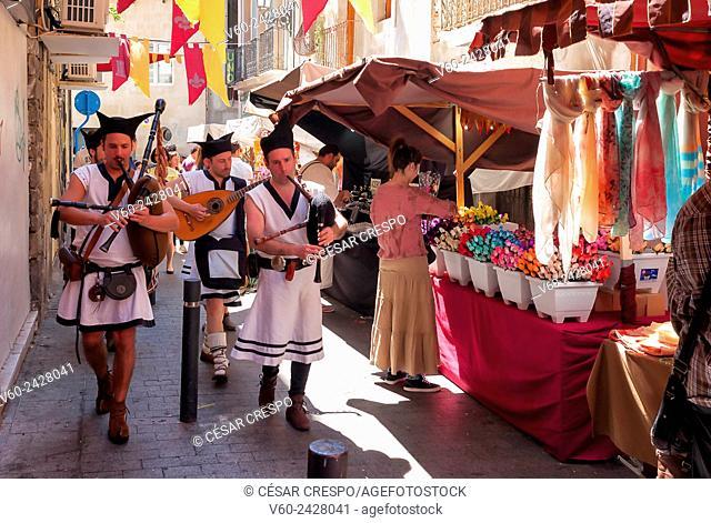 -Medieval Market in Alicante- Spain