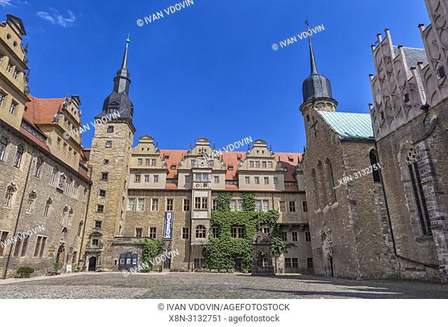 Merseburger Schloss (15th century), Merseburg, Saxony-Anhalt, Germany
