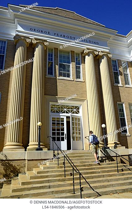 Peabody Hall Ole Miss Campus University Oxford Mississippi MS