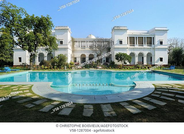 India, Haryana, Pataudi palace, The swimming pool