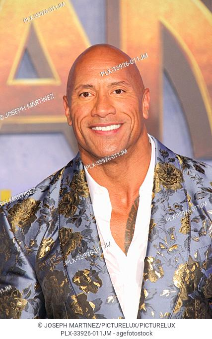 """Dwayne Johnson at Sony Pictures' """"""""Jumanji: The Next Level"""""""" World Premiere held at the TCL Chinese Theater in Hollywood, CA, December 9, 2019"""