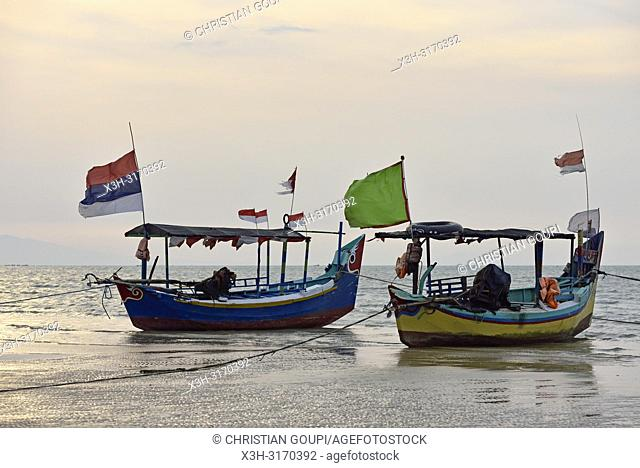 Karangjahe Beach near Lasem, Java island, Indonesia, Southeast Asia