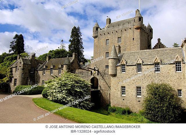Cawdor Castle near Inverness, Inverness-shire, Northern Highlands, Scotland, United Kingdom, Europe
