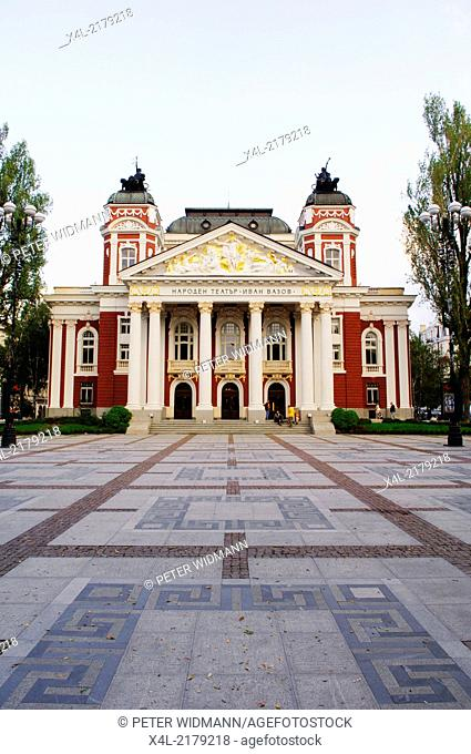 Sofia, Ivan Vasov National Theatre, Bulgaria