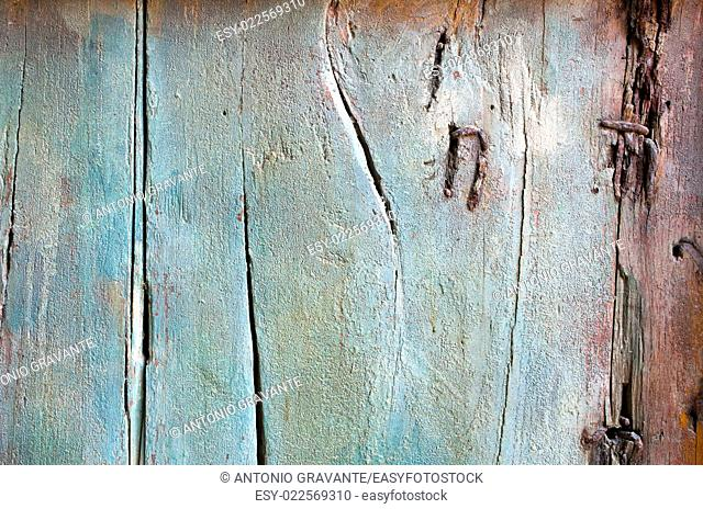 Old grunge wooden wall planks background