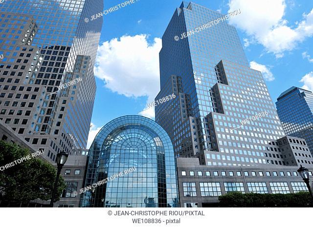 World financial center, New York City, USA