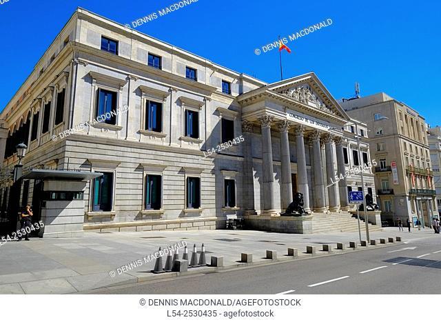 Congress of Deputies Madrid Spain ES