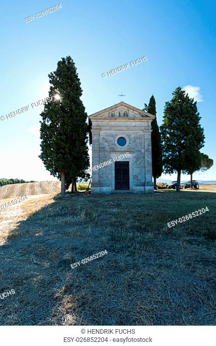 chapel in the tuscany