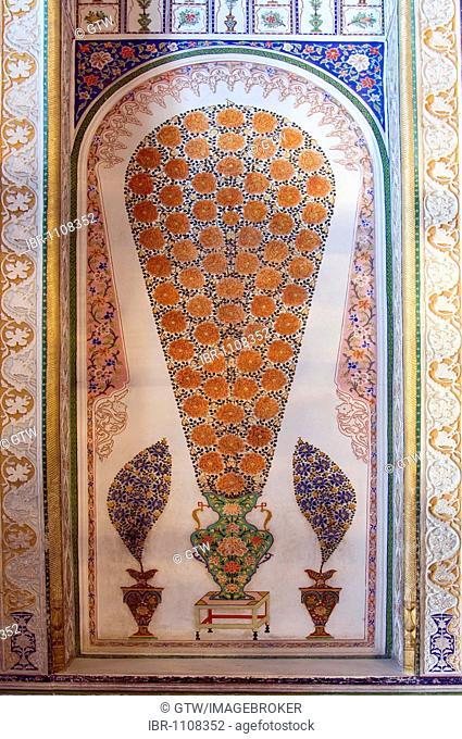 Sitorai Mokhi Khosa, Palace of Moon-like Stars, summer palace, The reception block, Bukhara, UNESCO World Heritage Site, Uzbekistan