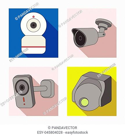 Cctv sign warning Stock Photos and Images   age fotostock