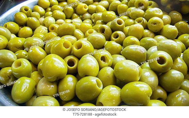 Olives 'Manzanillo' without stone