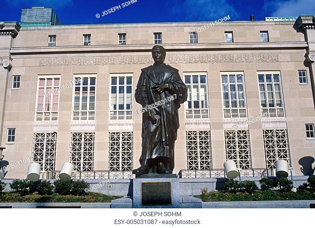 Statue of Christopher Columbus statue, Columbus, OH