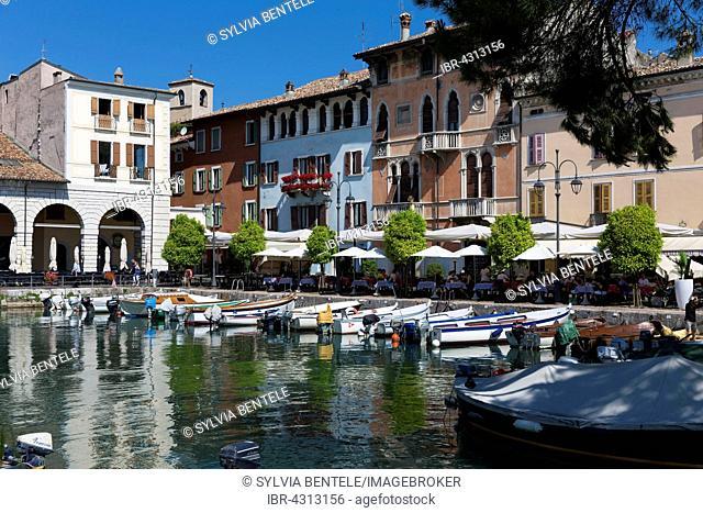 Old Port, Desenzano del Garda, Lombardy, Italy