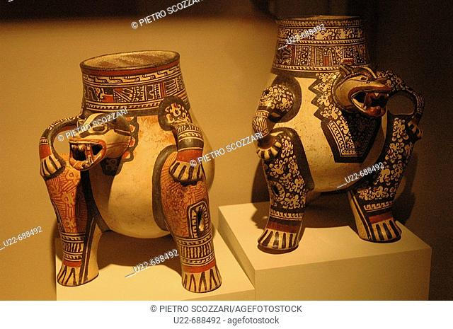 San José, Costa Rica: precolombian potteries at the Museo del Jade