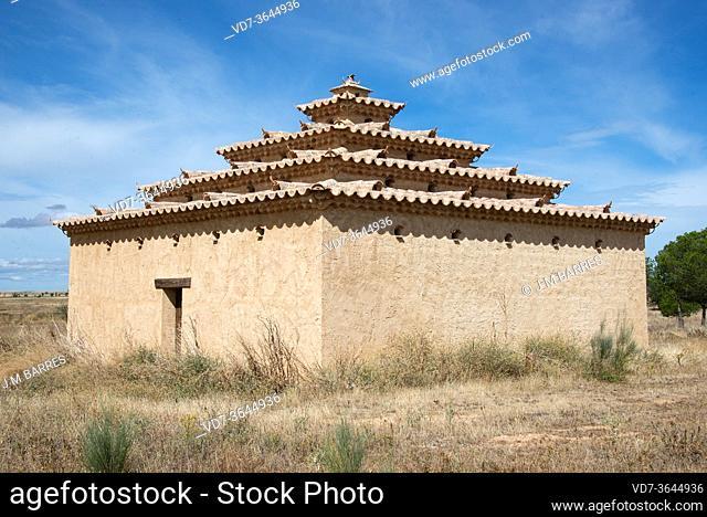 Villafafila, dovecote. Zamora province, Castilla y Leon, Spain