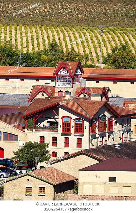Lopez de Heredia Viña Tondonia, Rioja wine cellar, Barrio de la Estación, Haro, La Rioja, Spain