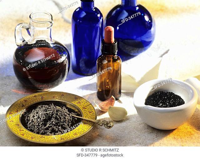 Black cumin, alternative remedy