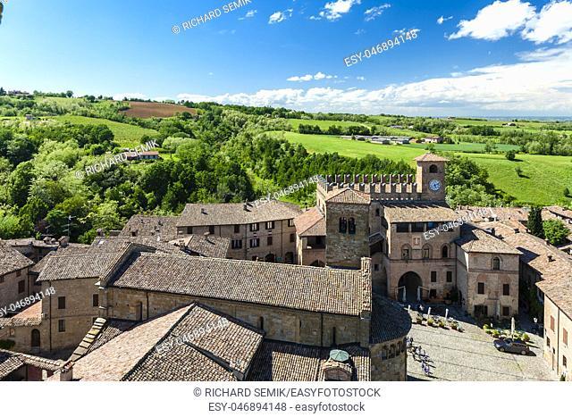 Castell Arquato in Italy