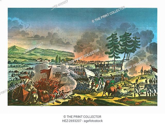 Battle of Friedland, 14 June 1807, (c1850). Artist: Francois Pigeot