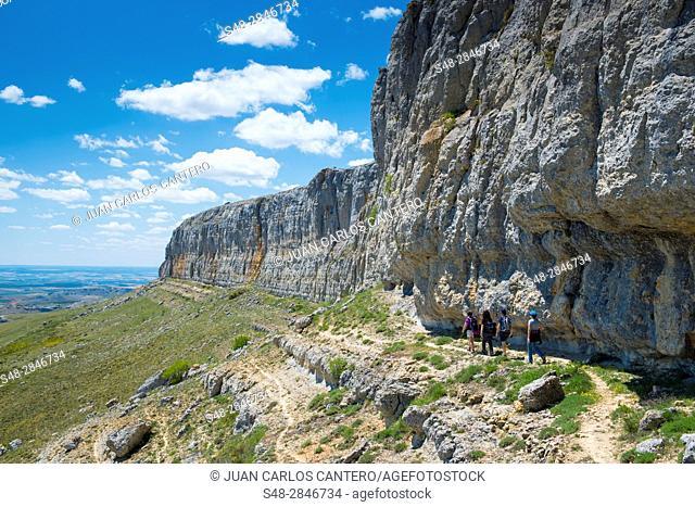 Macizo montañoso de la Peña Amaya. Burgos. España. Europa