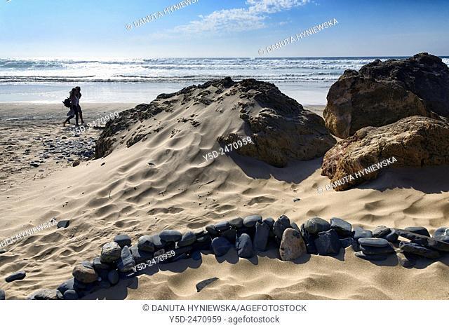 Praia da Cordoama, Cordoama beach, near Vila Do Bispo, close to Sagres, Parque Natural do Sudoeste Alentejano e Costa Vicentina