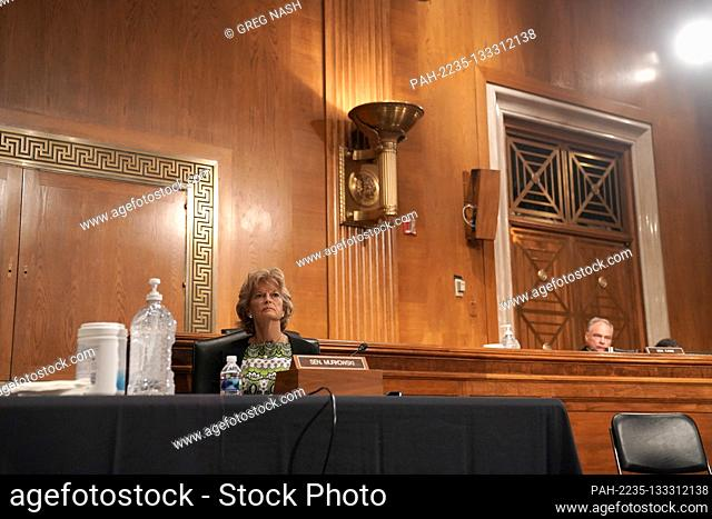 United States Senator Lisa Murkowski (Republican of Alaska) is seen during a Senate Health, Education, Labor and Pensions Committee hearing on Tuesday, June 23