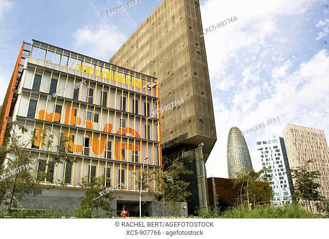 RTVE building, 22@, Barcelona, Catalonia, Spain