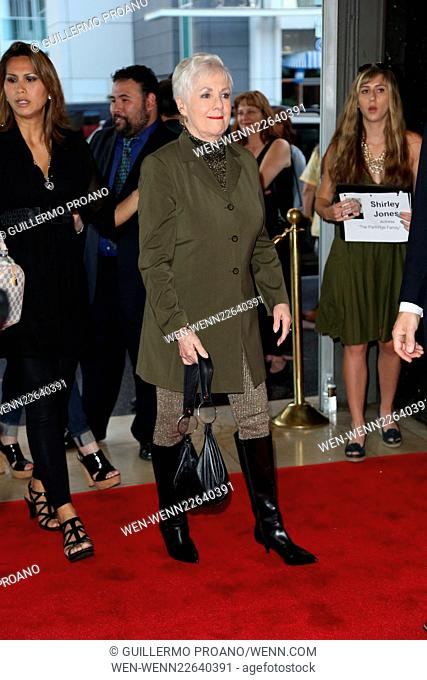 'The Phantom of the Opera' held at The Hollywood Pantages Theatre - Arrivals Featuring: Shirley Jones Where: Los Angeles, California