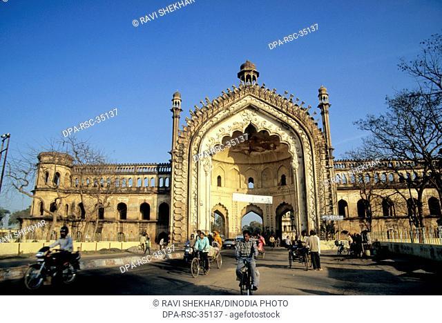 Rumi Darwaza , Lucknow , Uttar Pradesh , india