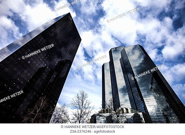 Areva and Total skyscraper at Paris-La Défense, France. at Paris-La Défense, France