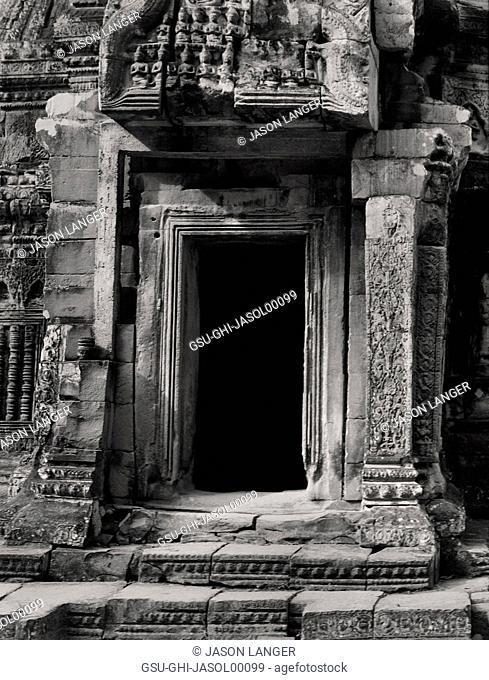 Temple Entrance, Angkor Wat, Cambodia