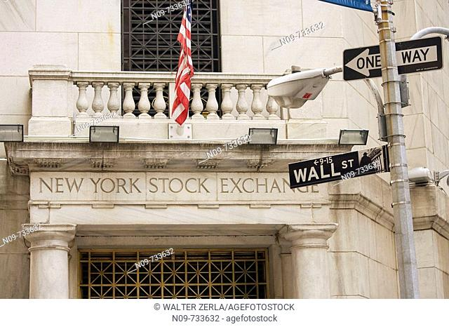 New York Stock Exchange, New York City, USA