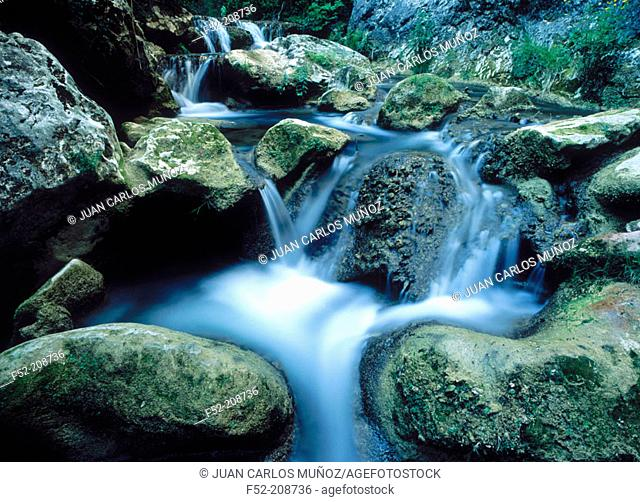Puron River. Valderejo Natural Park. Álava. Spain